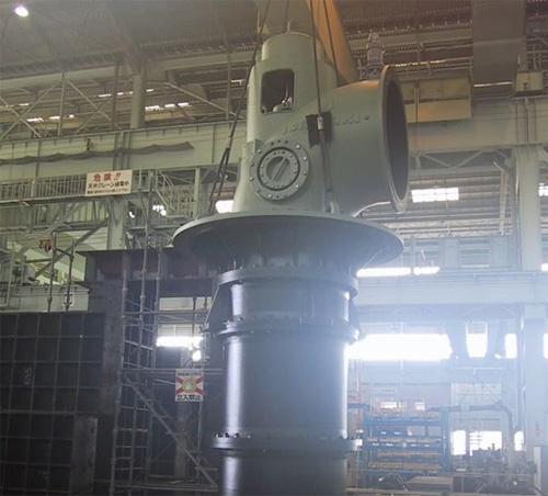 立軸軸流ポンプ IAFVの納入事例