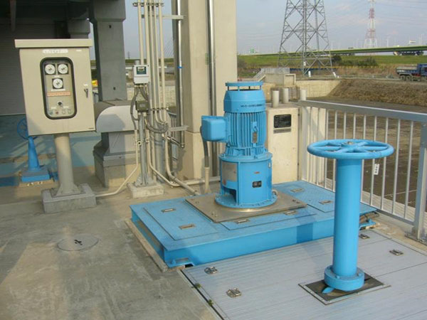 水処理用循環ポンプ IPOAの納入事例