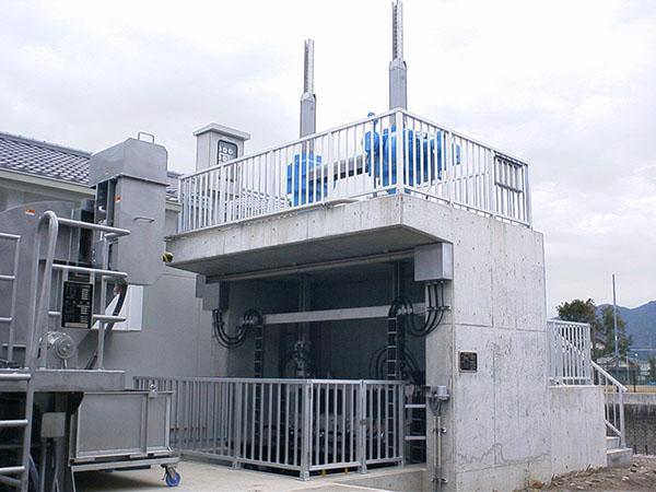ポンプゲート IGAHの納入事例