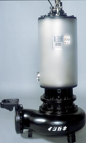 気中連続運転可能形水中ポンプ IPSFLD