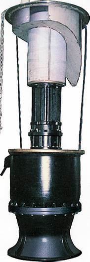 水中ポンプ(コラム形)IPUD(斜流)