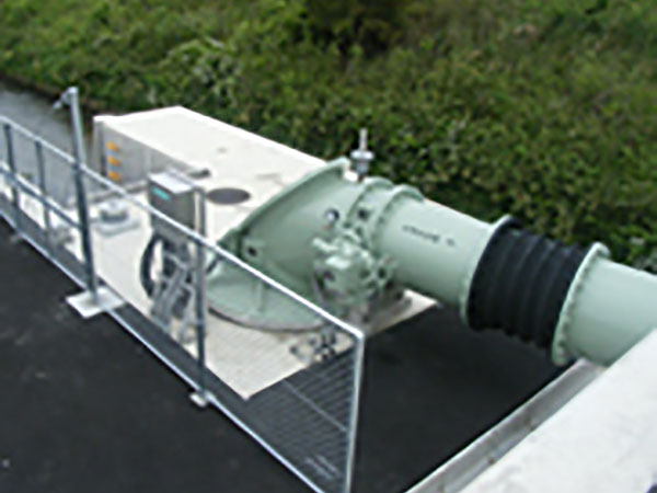 コラム形水中ポンプ(軽量コンパクトタイプ) IPUDNの納入事例