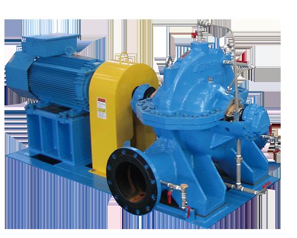小水力発電用ポンプ逆転水車 IDS-G