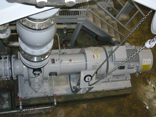 吸込スクリュー付渦巻ポンプ ISRの納入事例
