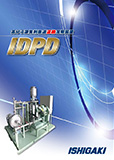 IDPD型 ディスク式高分子凝集剤急速連続溶解装置