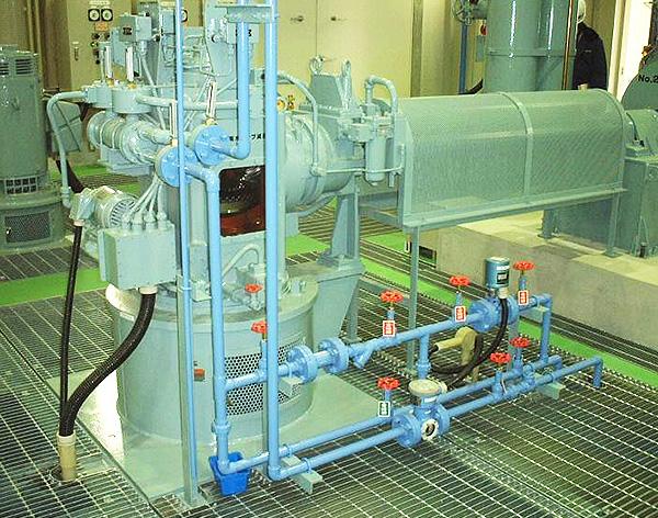 立軸スクリュー付斜流ポンプ PSRVの納入事例
