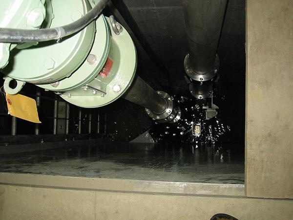 水中吸込スクリュー付渦巻ポンプ ISRSの納入事例