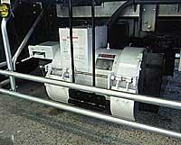エンジン駆動発電機