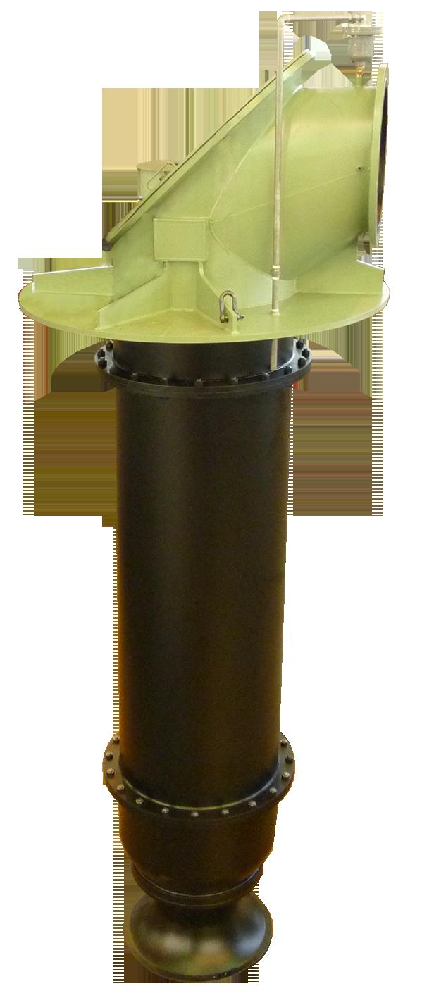 コラム形水中ポンプ(軽量コンパクトタイプ) IPUDN