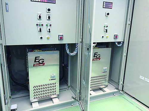 フラッドバスター専用始動器「EGスターター」 IESの納入事例