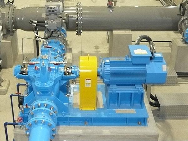 小水力発電用ポンプ逆転水車 IDS-Gの納入事例