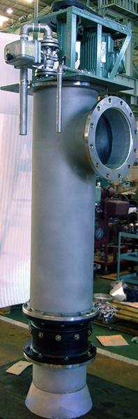 サイホン式立軸水車 IPOA-G